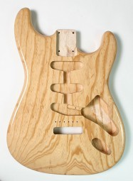 Strat Swamp Ash Natural Finish