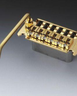 SCHALLER VINTAGE TREMOLO 53.5mm STEEL BLOCK GOLD