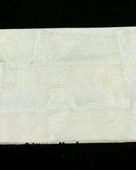 NACRE BLANCHE (MOP) RECONSTITUEE 120x70x1mm