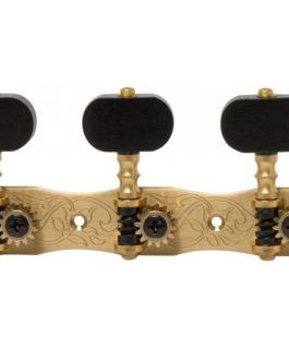 Classic 1800 Bouton Ebony Solid Brass 1:14