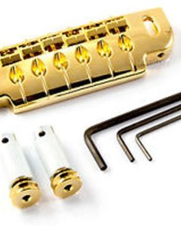 Gotoh Guitar Bridge  Et  Tailpiece 510 Gold