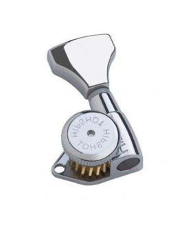 Hipshot Guitar Locking Tuning Machine Chrome Right (1Pc)