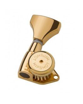 Hipshot Guitar Locking Tuning Machine Gold Left (1Pc)