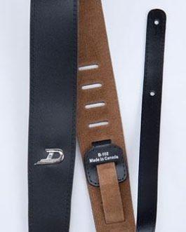 Duesenberg Standard Strap Cuir/Leather Black