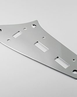 Jaguar Upper Switch Plate Chrome