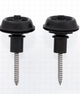 Dunlop Sec-Lock Flush Mount Black (2)