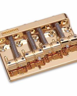 Gotoh P/J Bass Bridge Brass Gold 19Mm Av Rails
