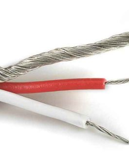 2 Fils+Masse/ 2 Conductor Wire (25′-7.40M)