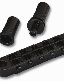 Lp Gotoh Bridge 6.5Mm Holes+ Studs Black
