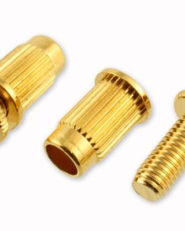 Hardware Stud + Insert For Bridge 6.5Mm Gold