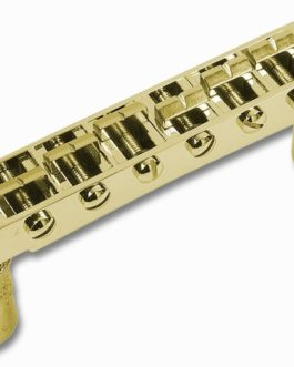 CHEVALET TUNOMATIC METRIQUE TROUS 6.3mm – INSERTS 12mm GOLD
