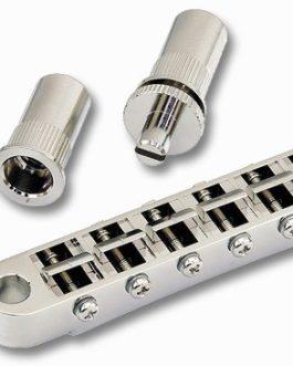 GOTOH® GE103B-T TUNE-O-MATIC BRIDGE 6mm METRIC POSTS NICKEL