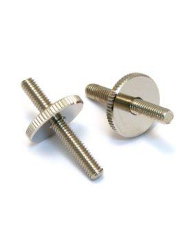 Hardware Studs And Wheels Metric Nickel (Bridges 4Mm)
