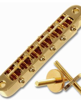 CHEVALET TUNOMATIC TROUS 4.2mm – INSERTS 4mm GOLD