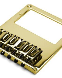 Tele Humbucking 10.8Mm Zinc Saddle Gold (4 Visible Mounting Screws)