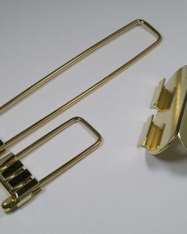 Split Trapeze Gold