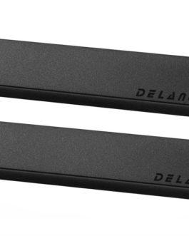 Delano Soapstick 6 Twin Coil In Line Capot Noir (Set 2)