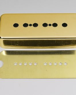 COVER P90 METAL GOLD (INCL BRASS BASE PLATE)