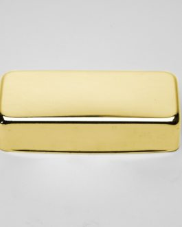 Cover Pour Mini Humbucking (Silver Nickel) Gold