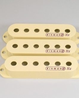 Kinman Strat Cover Set Cream With Logo