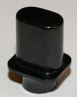 Switch Knob Tele Us Black Droit (Bulk Pack 10Pcs)