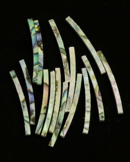 Abalone Laminated Curved1.6 X 1.6 X 25Mm (15Pcs)