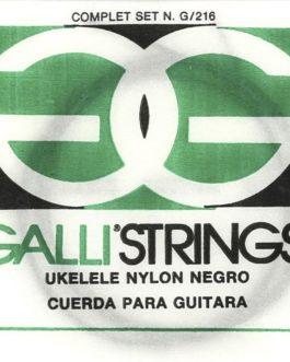 Ukulele Black Nylon Set