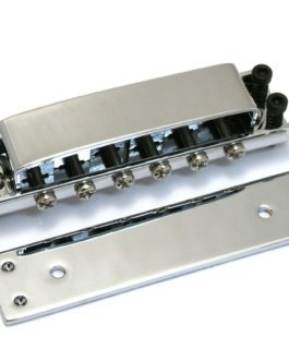 Rickenbacker Style Tunematic Bridge Chrome