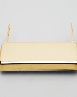 Slimbucker Jazz Guitar Pu Gold Neck Mount Xtra-Flat 0.8 Cm
