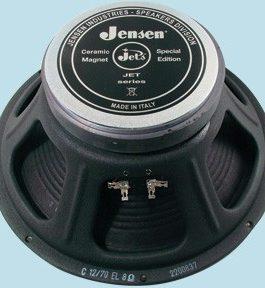 12 Jensen Jet Electric Lightning 8 Ohms 70 W