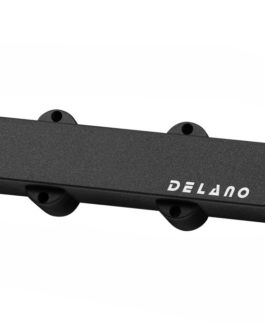 Delano J.Bass 4 Split Coil Humb Cover Bk No Hole Neck