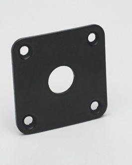 Lp Jack Plate Black