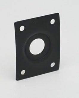 Plaque Jack Rectangulaire Black Avec Cuvette