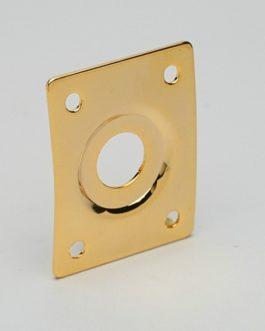 Plaque Jack Rectangulaire Gold Avec Cuvette