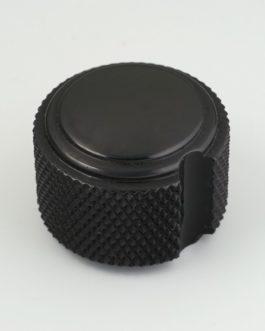 Bouton Duesenberg Style Art Deco (Dia 22 X H 16.5) Black (2)