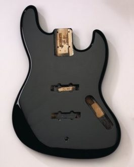 Jazz Bass Alder Black