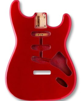 Strat Alder Candy Apple Red (Allparts)