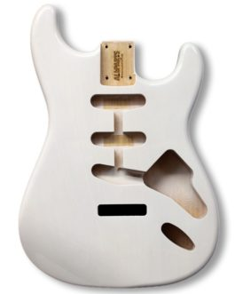 Strat Alder See Through White (Allparts)
