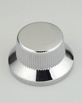 Bouton Type Strat Metal Chrome (Screw) (2)