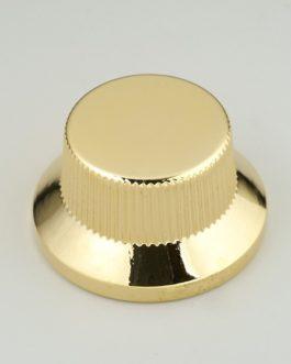 Bouton Type Strat Metal Gold (Screw) (2)