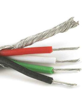 4 Fils+Masse (7.40 M)/ 4 Conductor Wire (25′)