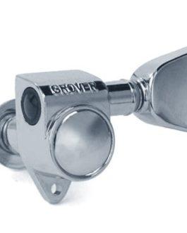 Grover Rotomatic 3X3 Keystone Button Chrome 1:14