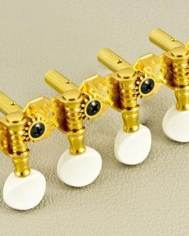 Gotoh Mandoline Tuners (Slot) White Button / Gold