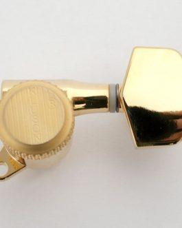 Kluson Lock- Back 3X3 Schaller Style Gold