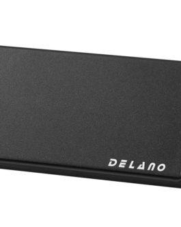 Delano Mman 5- Dual Coil  Humb Cover Bk No Hole