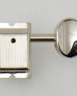 Kluson Double Line 6X1 Nickel (Press) Blocable