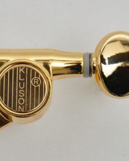 Kluson B.Huile 6X1 Petit Bouton Rond Gold