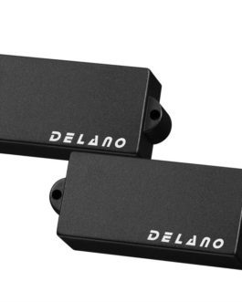 Delano P.Bass Split Coil Humb Black Cover No Holes