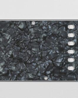 Tremolo Plate Dark Black Pearloid 4-Ply .100 E-E 56Mm