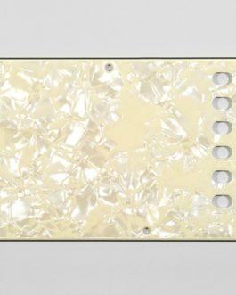 Tremolo Plate Cream Pearloid 3-Ply .100 E-E 56Mm